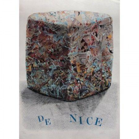 Lithograph Cesar - Carnaval de Nice