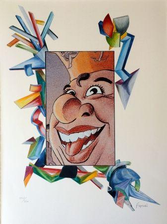Lithograph Fahri - Carnaval de Nice
