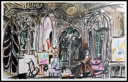 Lithograph Picasso (After) - CARNET DE CALIFORNIE XIII