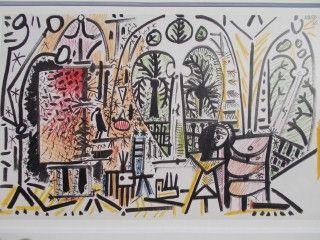 Lithograph Picasso - Carnet de la californie