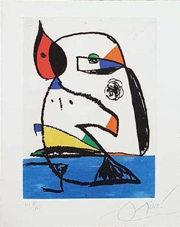 Etching Miró - Carnets Catalans