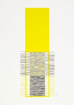 Screenprint Soto - Caroni (Yellow)