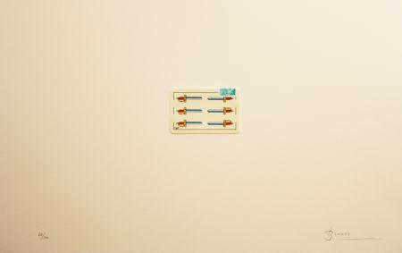 Lithograph Brossa - Carpeta 12 Aniversari Galeria Joan Prats