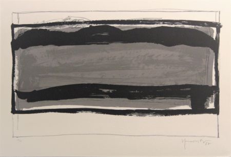 Lithograph Hernandez Pijuan - Carpeta 12 aniversari Galeria Joan Prats