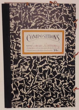 Screenprint Equipo Cronica - Carpeta compositions