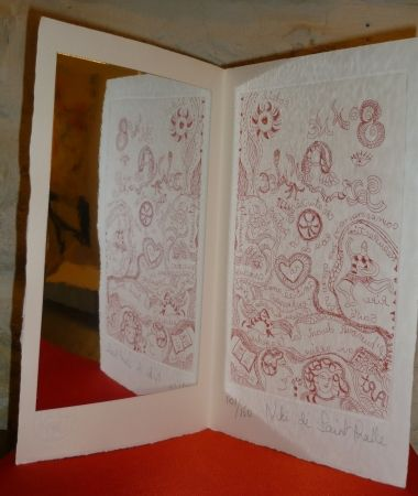 Multiple De Saint Phalle - Carte de voeu