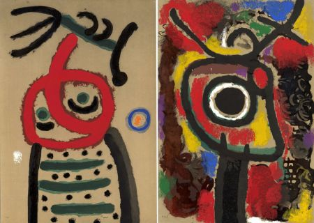 Illustrated Book Miró - CARTONES. New-York 1965