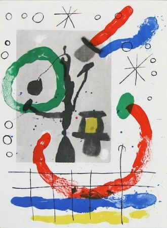 Lithograph Miró - Cartons pg.16