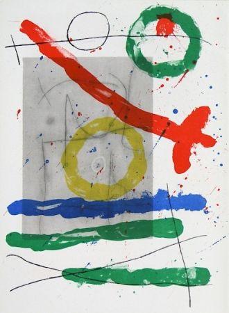 Lithograph Miró - Cartons pg.22