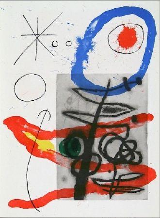 Lithograph Miró - Cartons pg.23