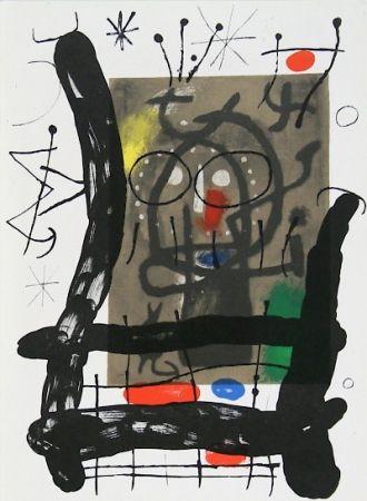 Lithograph Miró - Cartons pg.25