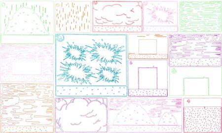 Etching Halley - Cartoon Views