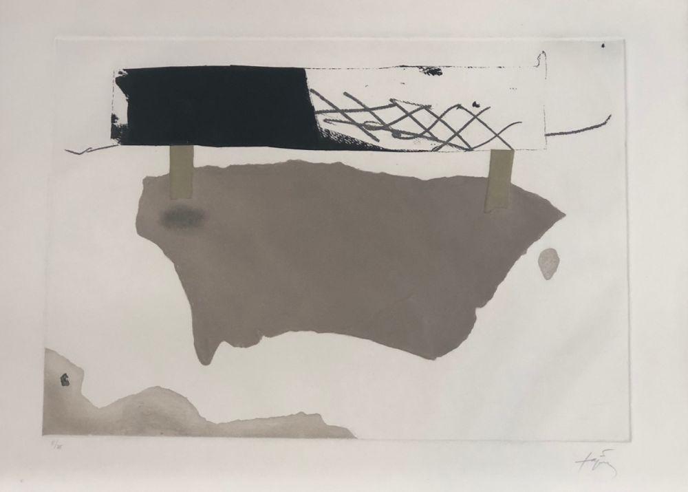 Engraving Tàpies - Cartró