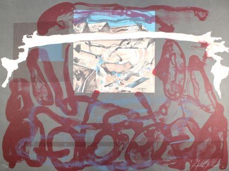 Lithograph Arranz-Bravo - Casa Azul y Blanca