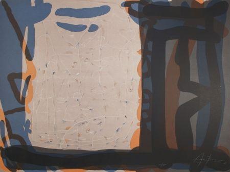Lithograph Arranz-Bravo - Casa con anaranjada