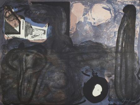 Lithograph Arranz-Bravo - Casa negra