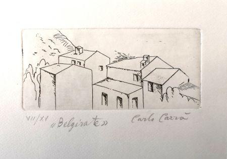Engraving Carra - Case a Belgirate