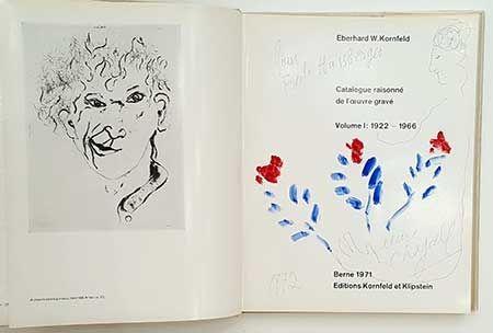 Illustrated Book Chagall - Catalogue de l'oeuvre gravé - dessin
