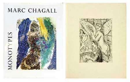 Illustrated Book Chagall - Catalogue des monotypes