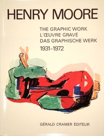 Illustrated Book Moore - Catalogue of the graphic work. 1931-1972.