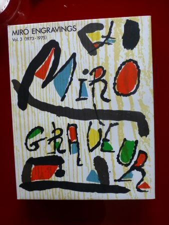 Illustrated Book Miró - Catalogue raisonné des gravures