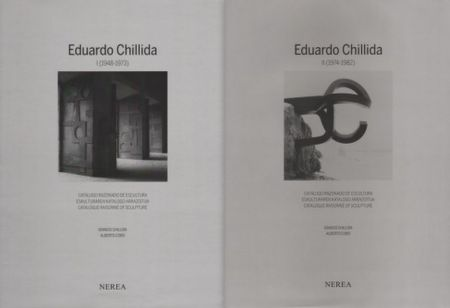 Illustrated Book Chillida - Catalogue raisonné of Sculpture 2 Volumes