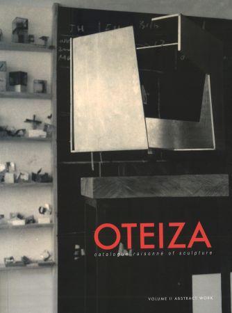 Illustrated Book Oteiza - Catalogue Raisonné Of Sculpture . Jorge Oteiza  2 Vol (English)