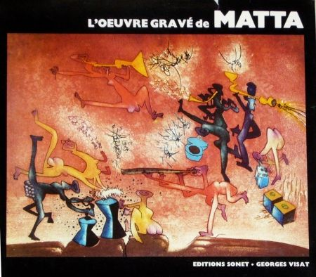 Illustrated Book Matta - Catalogue raisonné Sonet