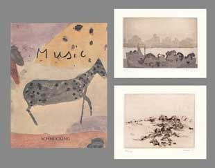 Illustrated Book Music - Catalogue Schmücking