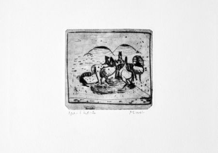 Etching Music - Cavallini