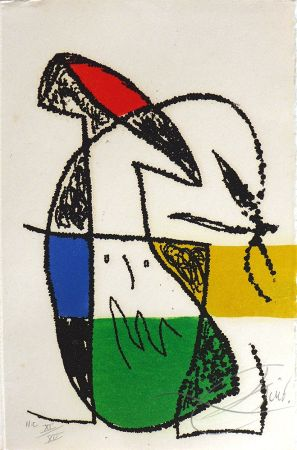 Etching Miró - Ceci est la couleur de mes rêves