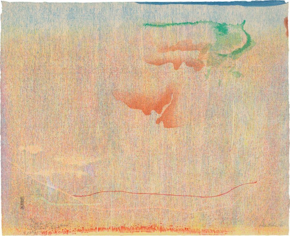 Woodcut Frankenthaler - Cedar Hill