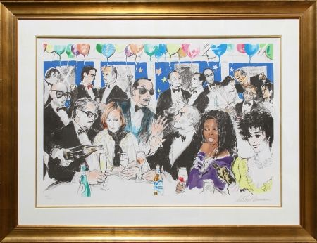 Screenprint Neiman - Celebrity Night at Spago