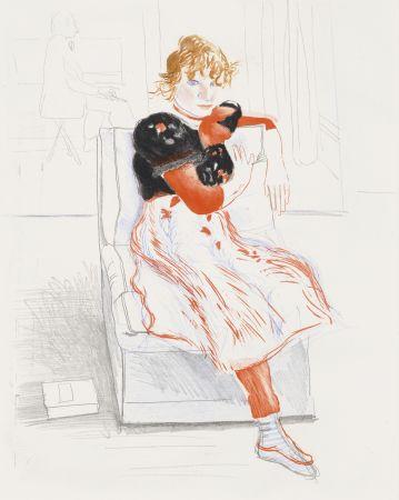 No Technical Hockney - Celia Observing