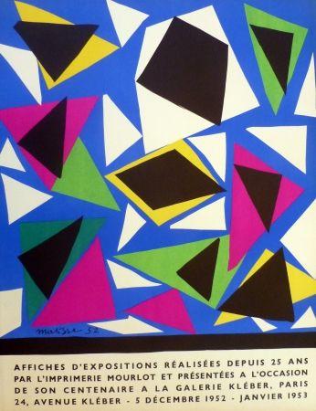 Lithograph Matisse - Centenaire de l'imprimerie Mourlot, exposition galerie Kléber 1953