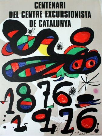 Poster Miró - Centenari del Centre Excursionista de Catalunya