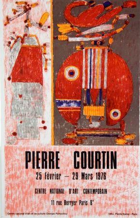 Lithograph Courtin - Centre National D'Art Contemporain