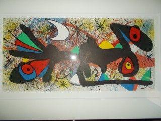 Lithograph Miró - Ceramique II