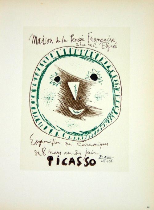 Lithograph Picasso (After) - Ceramiques