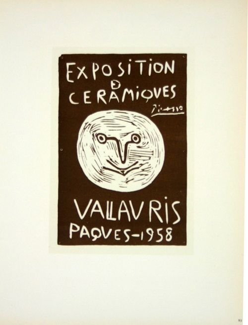 Lithograph Picasso (After) - Ceramiques  Paques