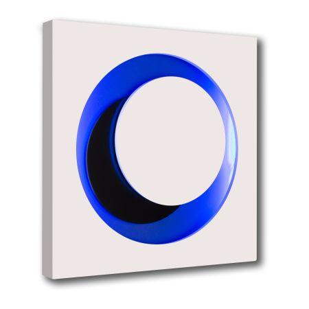 Woodcut Claisse - Cercle Blanc et Bleu