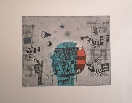 Etching Lorenzo - Cerebro Mecánico