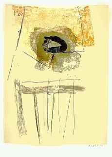 Lithograph Motherwell - Chair