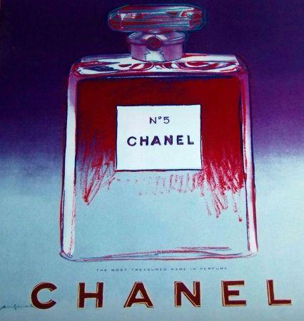Multiple Warhol - Chanel no 5 bleu