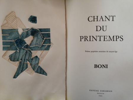 Illustrated Book Boni - Chant du Printemps - Poème populaire arménien -