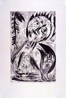 Engraving Pedersen - Chant du rossignol