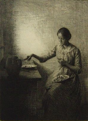 Etching Ilsted - Chantarelles