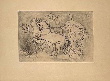 Etching Braque - Char