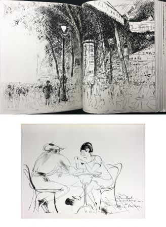 Illustrated Book De Segonzac - Charles-Louis Philippe : BUBU DE MONTPARNASSE. Avec dessin original et suites (1929).