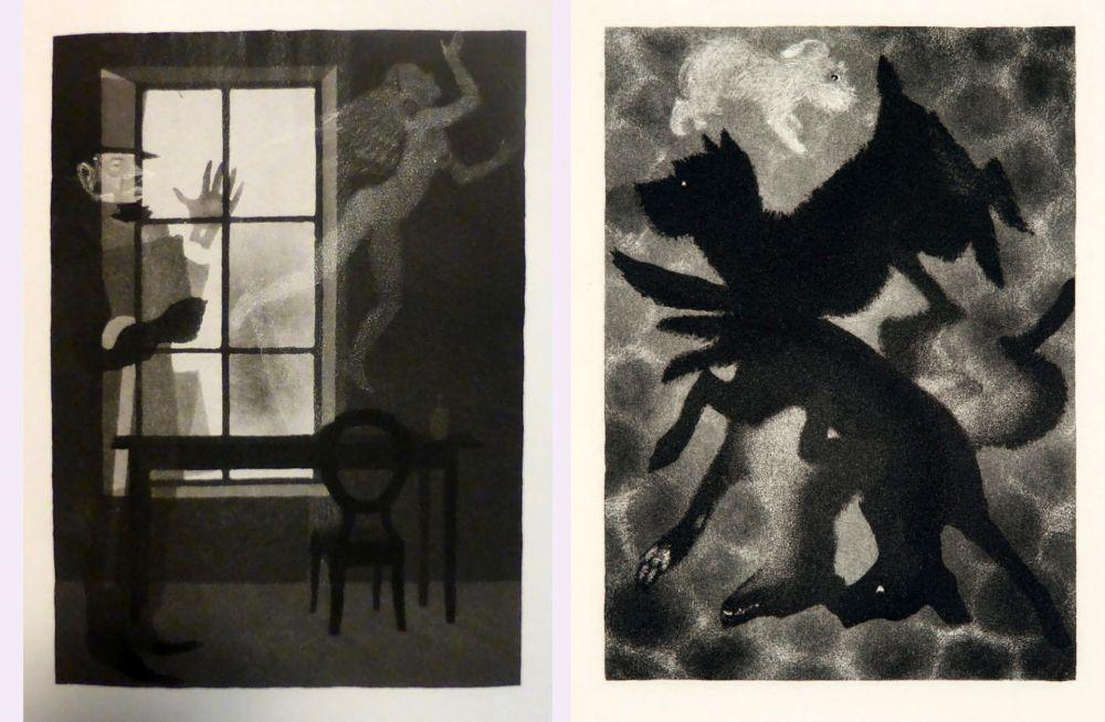 Illustrated Book Alexeïeff - Charles Baudelaire : PETITS POÈMES EN PROSE. Eaux-fortes d'Alexeieff (1934).